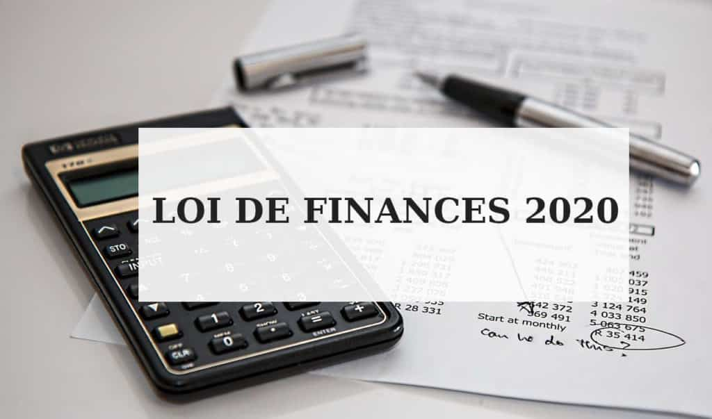 loi finances 2020